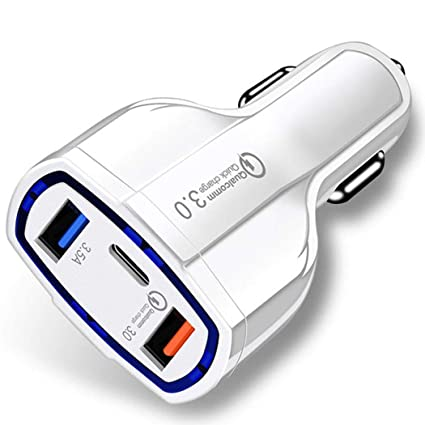 Sholdnut QC 3.0 Car Charger, Fast Charge 3.0 Car Charger 5V 3.5A QC3.