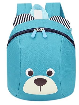 Flyskying Cute Bear Backpack Oxford Baby Boys Girls School Bag(blue ... 8e65722a86ab7