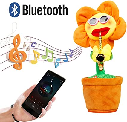 abnehmbarer Beh/älter Moni T/öpfchen Bunny 8871 Musikfunktion viele Melodien Farben:blau