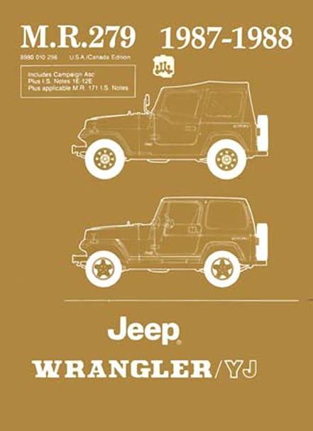 Amazon.com: bishko automotive literature 1987 1988 Jeep Wrangler Yj on 1988 jeep wrangler speaker, dune buggy wiring schematic, 1988 jeep wrangler voltage regulator, 1988 jeep cherokee engine diagram, 1988 chevrolet camaro wiring schematic, 1988 jeep comanche wiring diagram, 1988 jeep wrangler brochure, 1988 jeep wrangler dimensions, 1988 jeep wrangler repair, 1988 dodge ram wiring schematic, 1988 jeep wrangler relay, 1988 jeep wrangler specifications, 1988 jeep cherokee radio wiring diagram, 1988 jeep wrangler carburetor diagram, 1969 dodge charger wiring schematic, 1988 jeep wrangler engine, 1999 jeep cherokee electrical schematic, 1988 jeep wrangler vacuum diagram, 1988 jeep wrangler gauges, 1988 jeep wrangler distributor wiring,