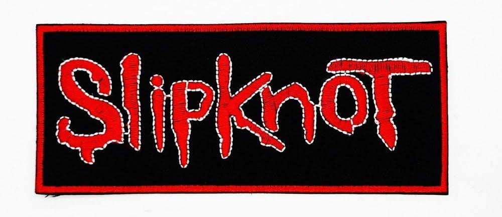 MNC parche negro rojo de Slipknot música banda Heavy Metal ...