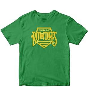 b34c8ad7632 Throwbackmax 1975 NASL Tampa Bay Rowdies Soccer Tee Shirt at Amazon ...