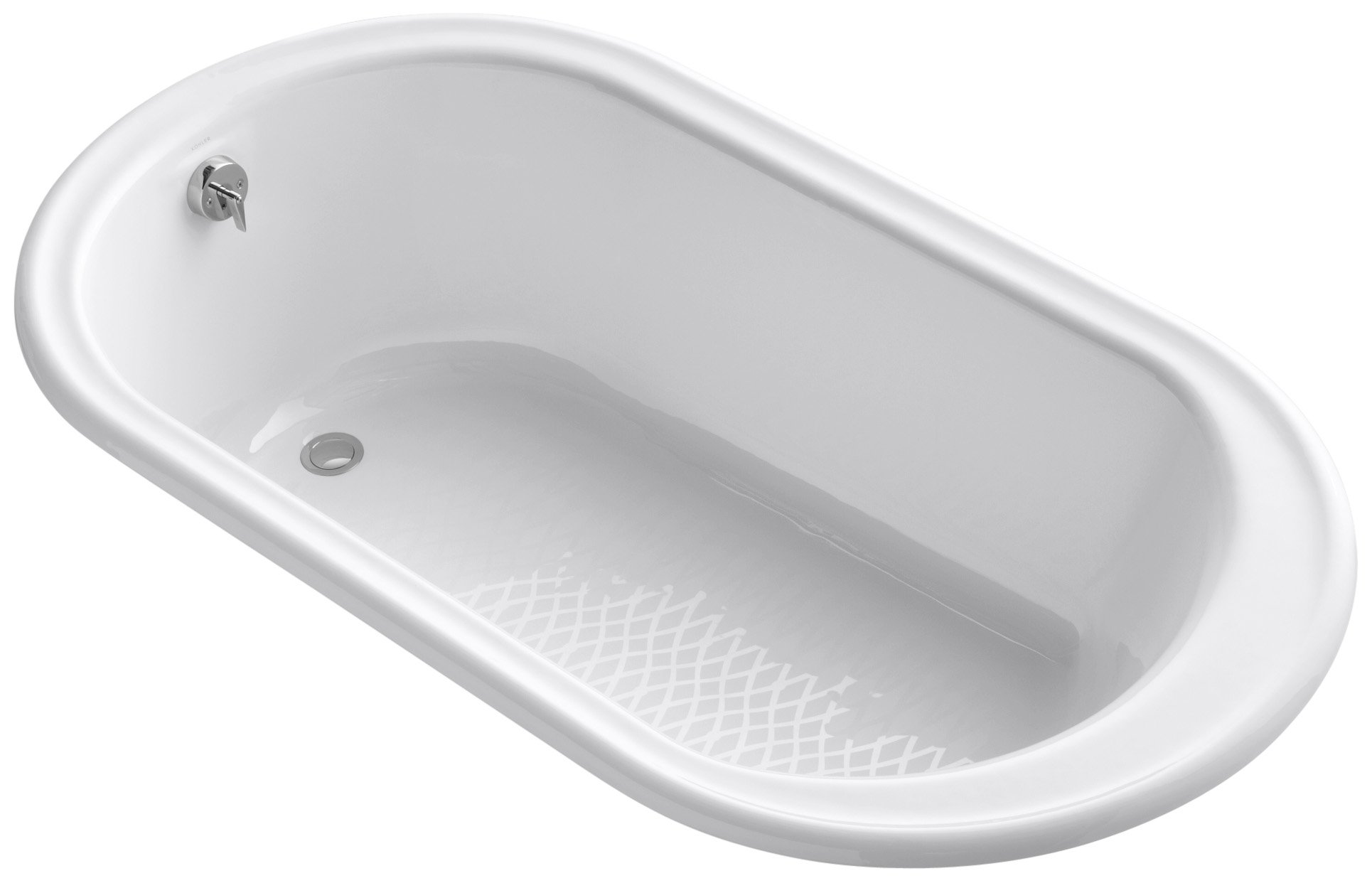 KOHLER K-711-0 Iron Works Bath, White