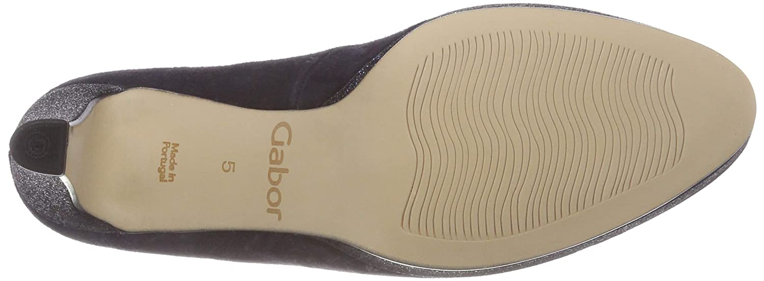 Gabor (Atlantik Damen Fashion Pumps Blau (Atlantik Gabor 36) 6ae8f1