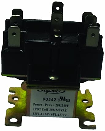 Supco 90340 General Purpose Switching Relay, 24 V Coil Voltage ... on light relay wire diagram, 12 volt relay diagram, relay circuit, relay connector diagram, relay modules diagram, fan relay diagram, block diagram, relay switch, relay parts, relay lens diagram, freightliner tail light diagram, 5l3t aa relay diagram, 2005 ford escape fuse panel diagram, 1999 pontiac bonneville parts diagram, 8 pin relay diagram, power relay diagram, relay schematic, relay pump diagram, horn relay diagram, ignition relay diagram,