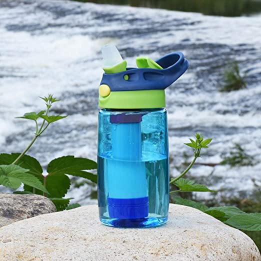 CORB Taza de Filtro para niños, Botella purificador de Agua ...