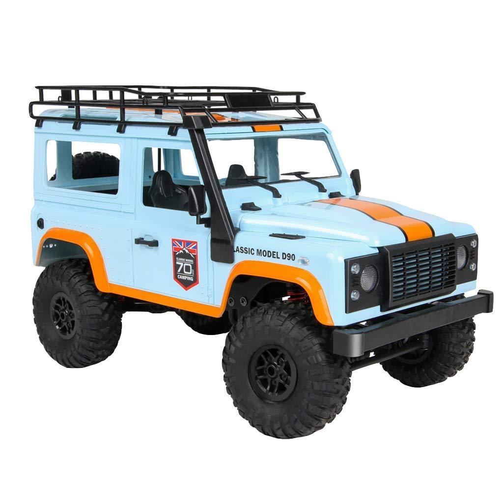 YUBINK MN-99 2.4G 1/12 4WD RTR Military Rock Crawler RC Truck Buggy Off-Road Car (B) by YUBINK