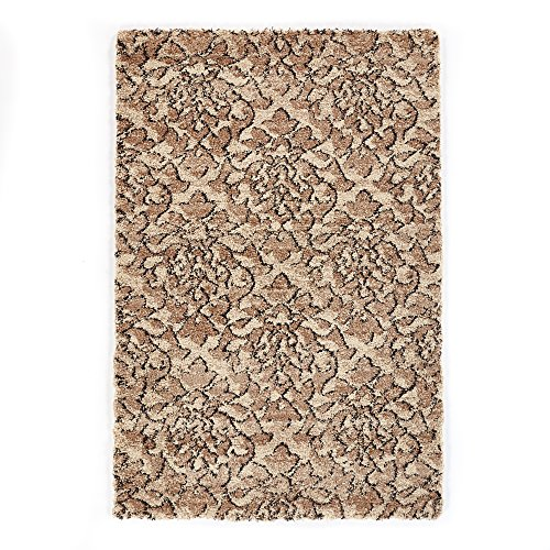 nt Rug, 3'3 x 4'11, Beige, Black (Carpet Accent)