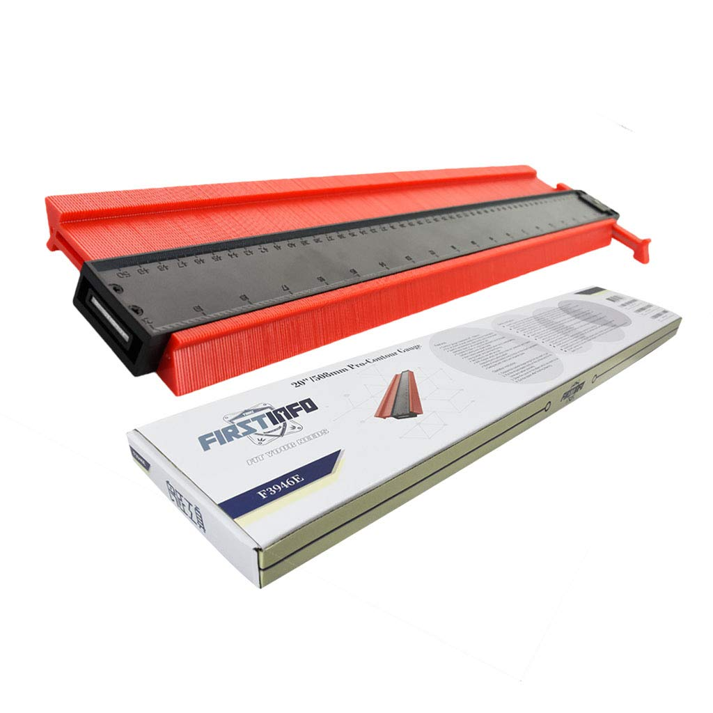 FIRSTINFO Made in Taiwan Pro Contour Gauge Duplicator 20'' with Magnet