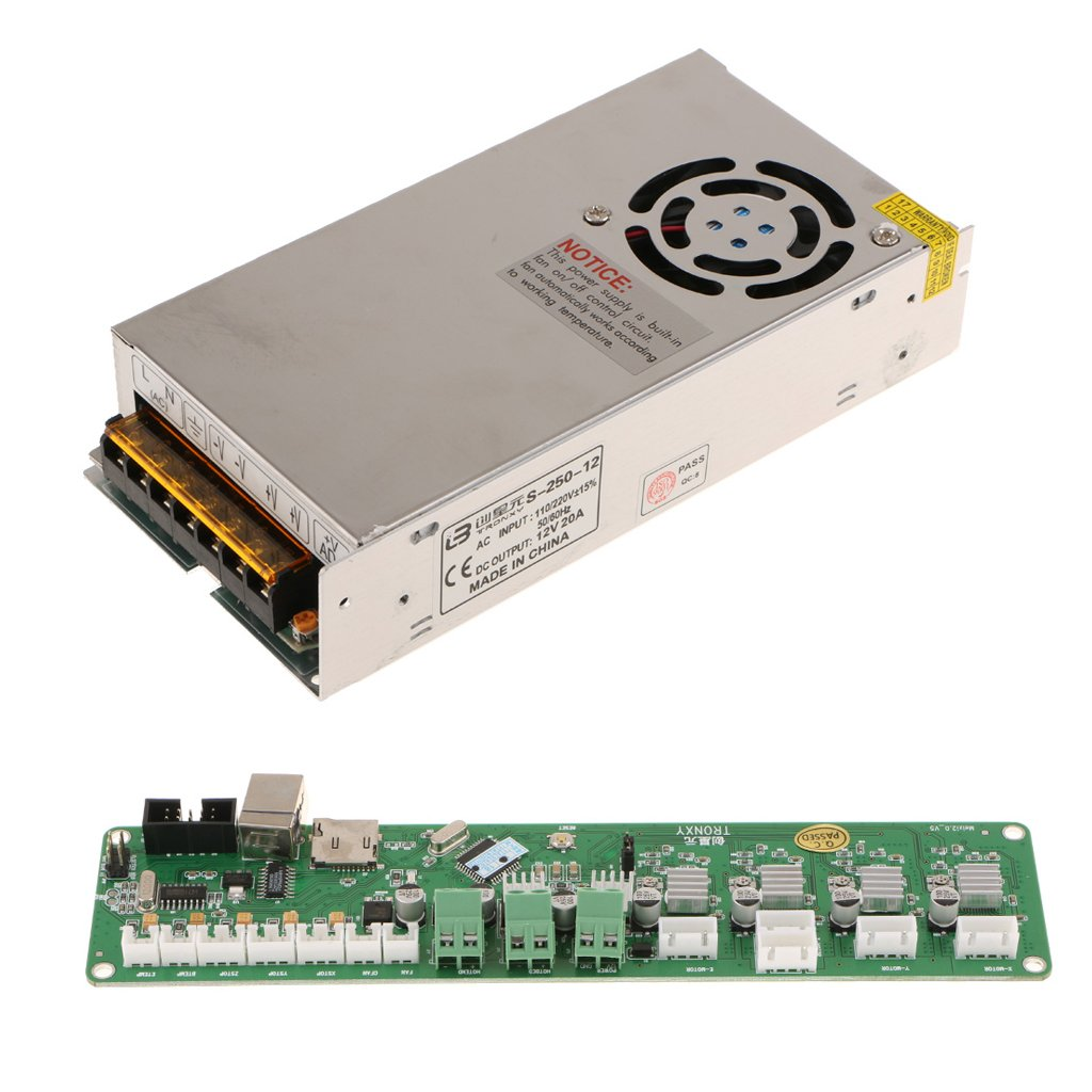 Dovewill 12V- Regulated Switching Power Supply& Melzi2.0 Mainboard for 3D Printers by Dovewill