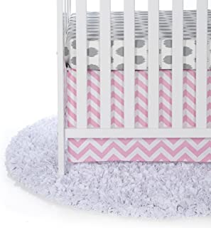product image for Swizzle Pink 2 Piece Crib Bedding Set