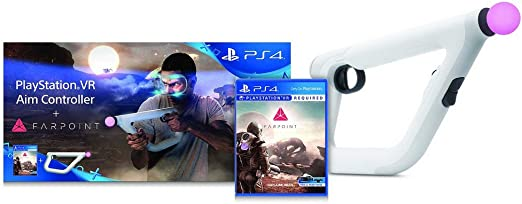 Sony PlayStation VR Aim Controller + Farpoint Básico PlayStation 4 ...