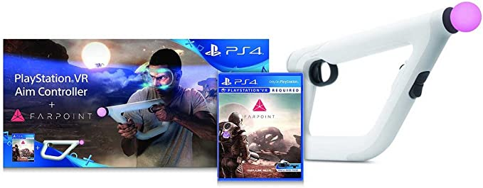 Sony PlayStation VR Aim Controller + Farpoint Básico PlayStation 4 ...