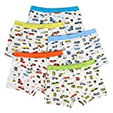 Bala Bala Boy's Boxer Brief Multicolor Underwear (Pack Of 5) (M/Car Underwear, (Pack Of 5)/Car Underwear)