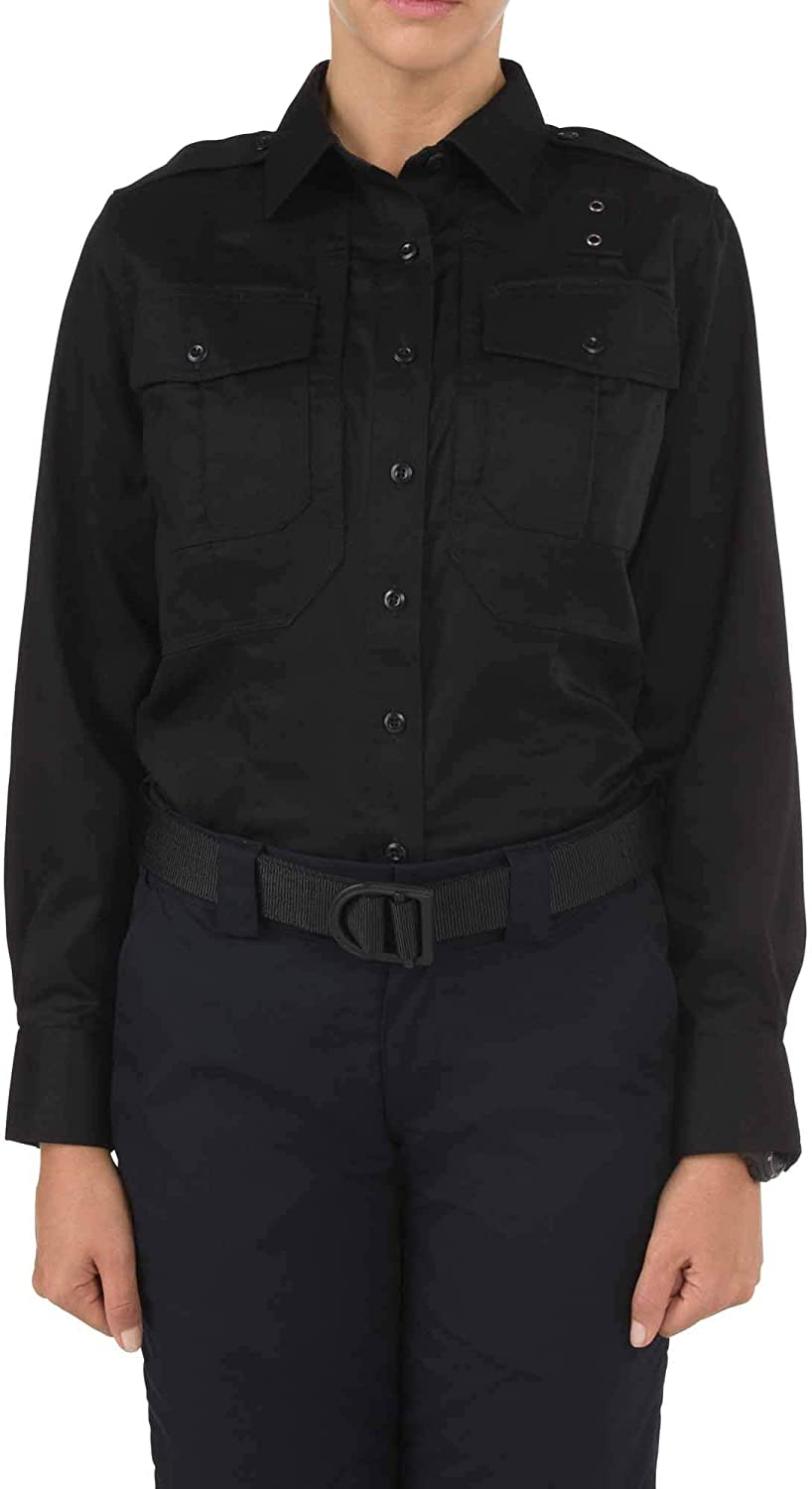 Style 62064 Breathable Poly-Cotton 5.11 Tactical Womens Twill PDU Class A Long Sleeve Shirt
