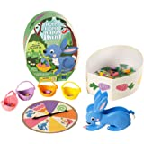 Educational Insights Hoppy Floppy's Happy Hunt Matching Preschool Board Game, Fine Motor Skills, 2-4 Players, Ages 3+