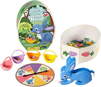 Educational Insights Hoppy Floppy's Happy Hunt   Matching & Fine Motor Skills Preschool Board Game   2-4 Players   for Ages 3+