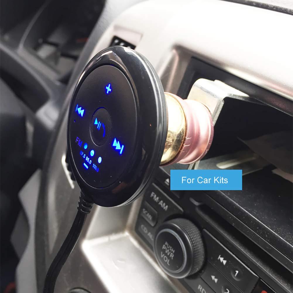 Sonoaud Adattatore per auto USB Bluetooth Wireless Receiver per auto Bluetooth 3.5mm