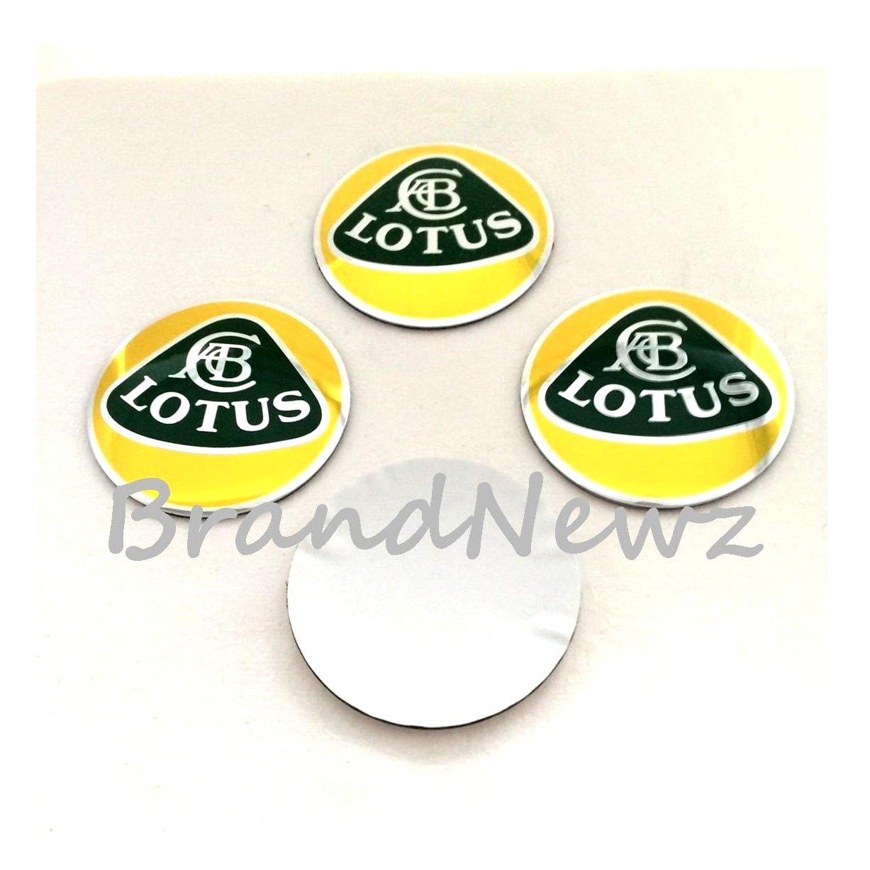 Amazon fr lotus jaune chrome 3d emblème de centre de roue stickers casquette logo badge enjoliveurs 56 5 mm dôme lot de 4