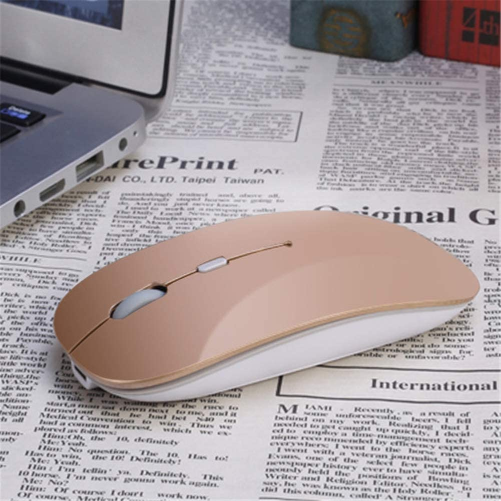 USB Receiver for Laptop Notebook PC Desktop Compute,E QLPP Ultra-Thin Mouse,2.4G Wireless Mouse,Gamer Wireless Mice with1600 DPI