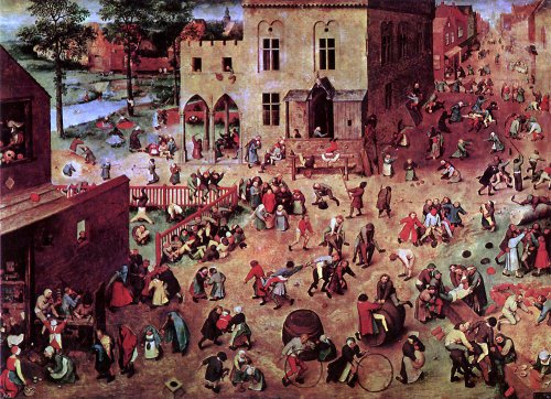 - The Elder Pieter Bruegel Children's Games - 18.05