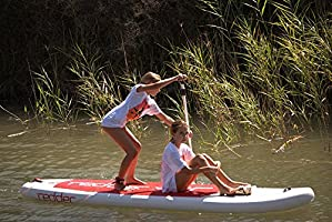 redder Tabla Stand Up Paddle– Kit: Tabla Inflable + Pala Ajustable ...