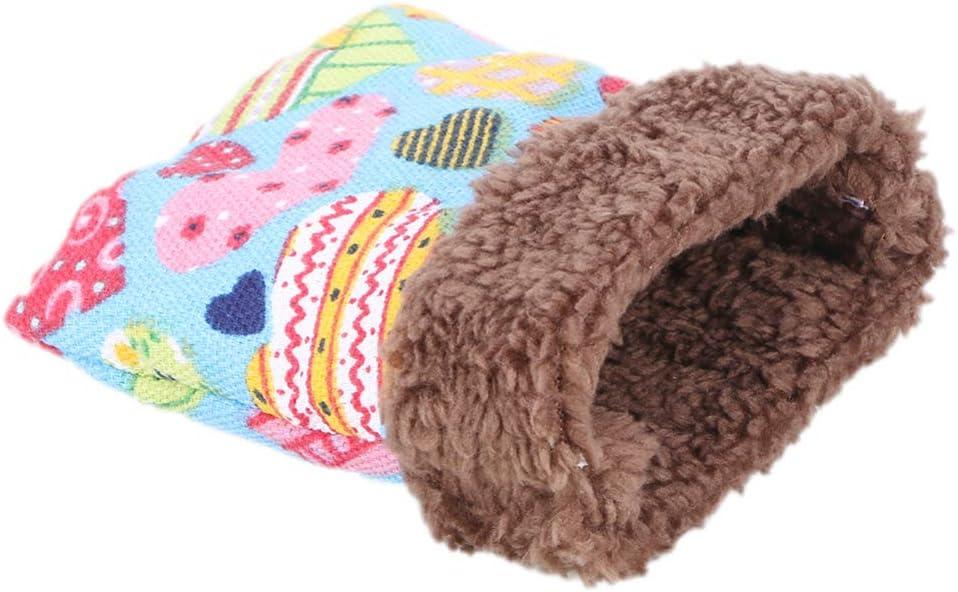 Hedgehog Cuddle Sack Guinea Pig Sleep Sack Rat Bonding Pouch Green Christmas Words Box Corner Snuggle Sack