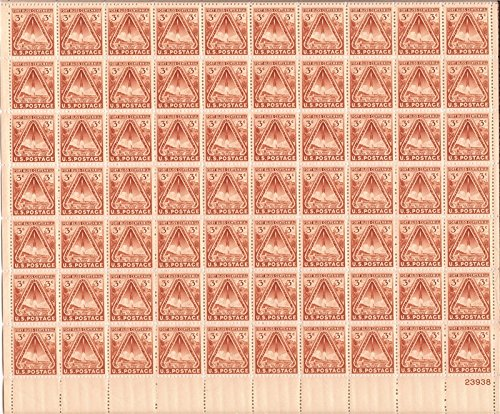 USPS Fort Bliss - Complete Sheet of 70 x 3 Cent Stamps Scott 976