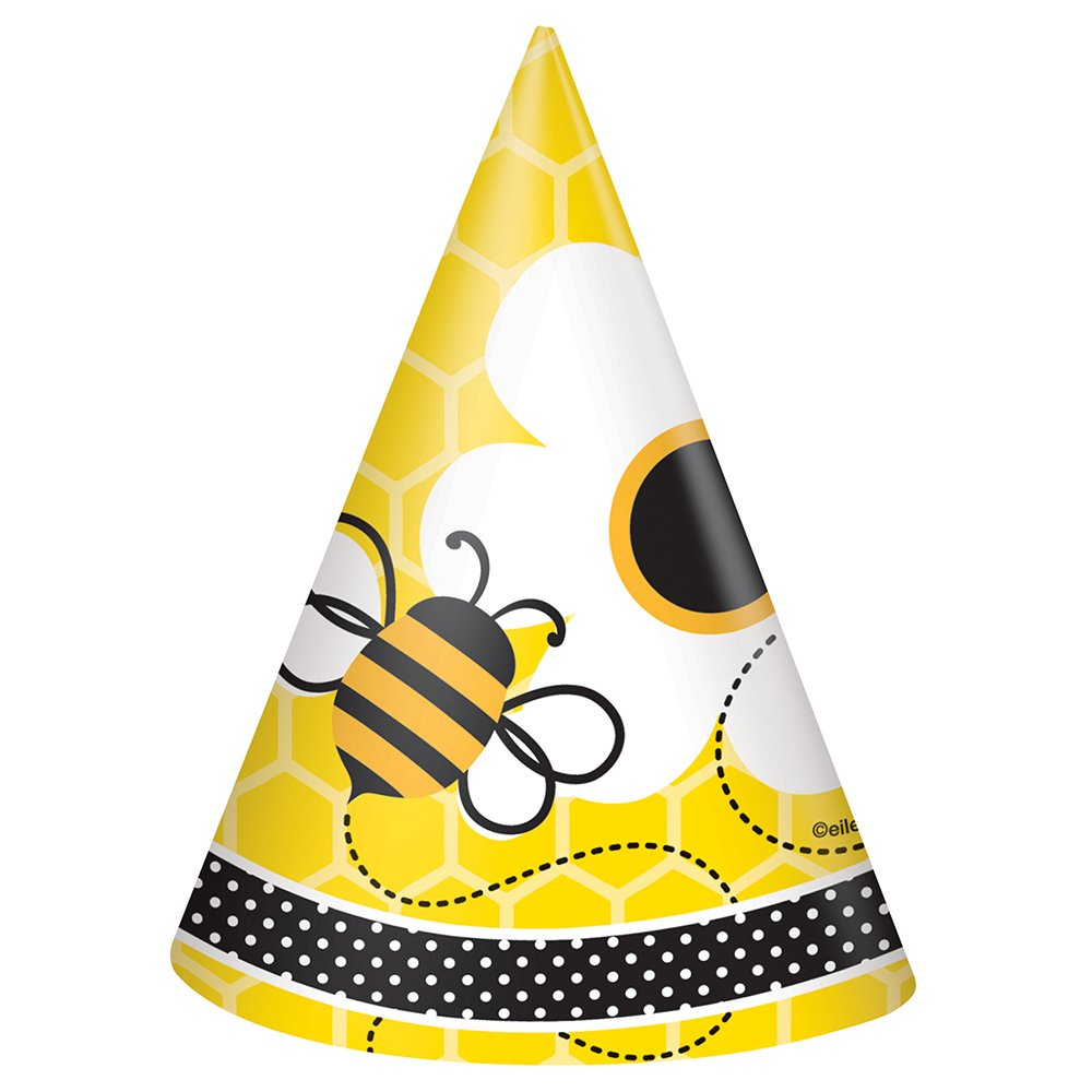 Amazon Bumble Bee Party Hats 8ct Childrens Kitchen Dining