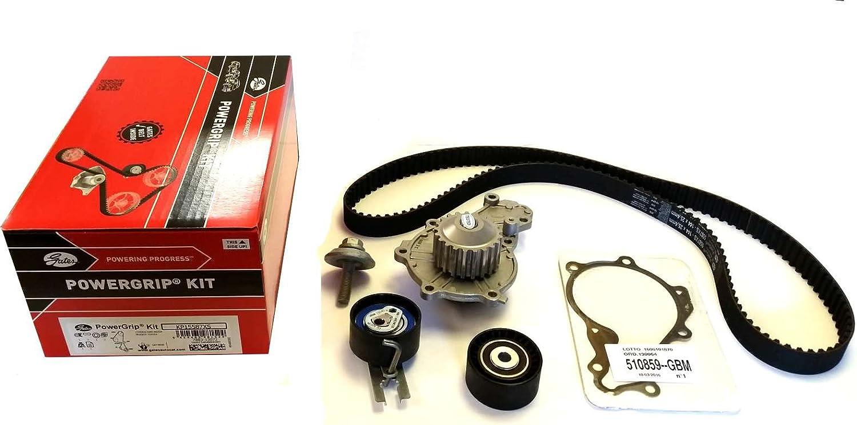 GATES Kit de correa de distribuci/ón KP155878XS bomba de agua y junta instant/ánea XTREMEAUTO Incluye adhesivo XTREMEAUTO