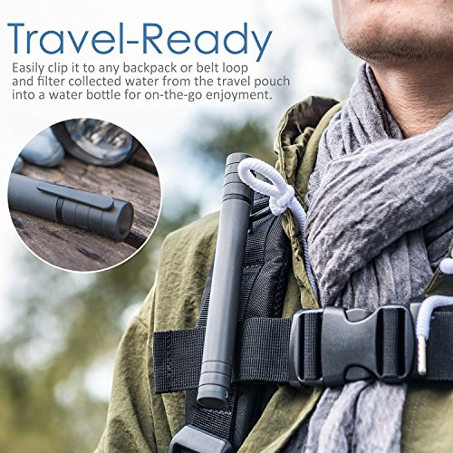 Personal-Water-Filter-Oak-Leaf-Portable-Emergency-Survival-Camping-Water-Filter-Water-Purifier-Straw-3-Stage-Filtration-for-Camping-Hiking-Travel-Emergencies