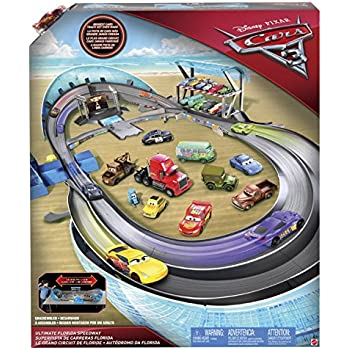 Amazon Com Disney Pixar Cars 3 Ultimate Florida Speedway Track Set Toys Amp Games