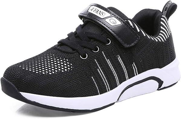 Zapatillas de Niño 32 Zapatillas de Correr Niños Deportivas Zapatos de Running Niñas Ligeras Zapatos de Walking Niña Transpirable Sneakers Baloncesto Zapatillas y Calzado Deportivas Negro: Amazon.es: Zapatos y complementos