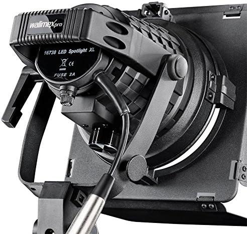 Walimex Pro Led Spotlight Xl Mit Abschirmklappen Kamera
