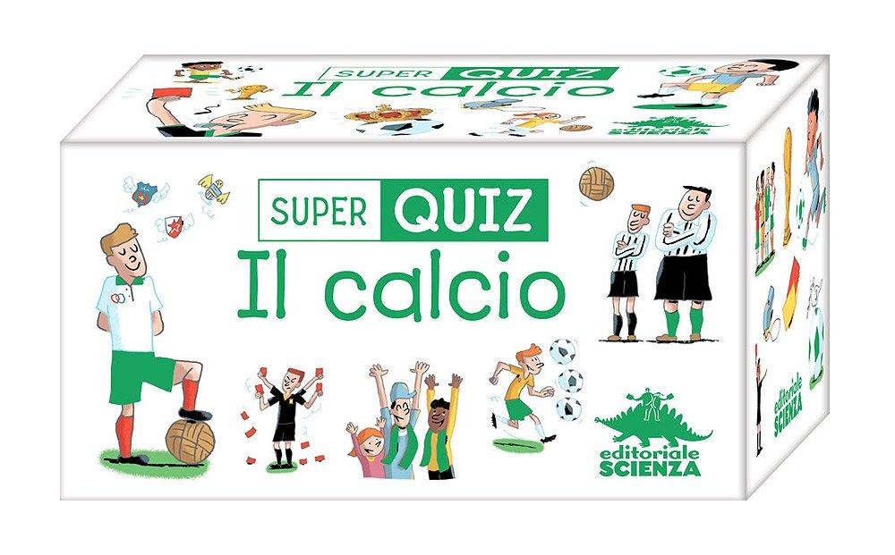 Calcio Super Quiz Con 100 Carte Amazon It Valentin Verthe P
