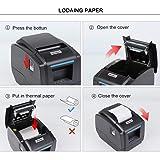 MUNBYN 3'1/8 80mm Thermal Receipt Printer USB