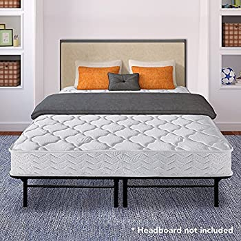 best price mattress 8 pocket coil spring mattress 14 dual use steel bed framefoundation set twin