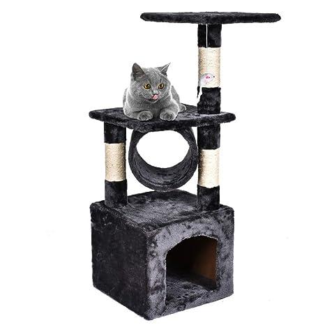 NIKINA - Árbol de casa para Gato, Torre de condo, Muebles, Poste para