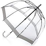 Fulton Birdcage Clear Dome Umbrella Silver - New Frame!