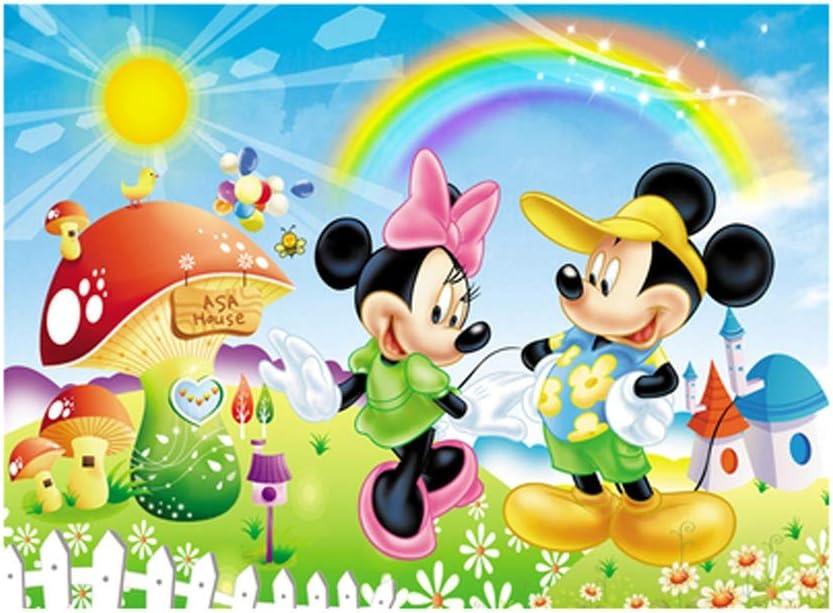 VAST Mickey Mouse de Disney de Dibujos Animados de Mickey Rompecabezas, educación de la Primera Rompecabezas de Madera, a 300/520/1000 Pedazos de Regalo Juego de los Juguetes 526: Amazon.es: Juguetes y juegos