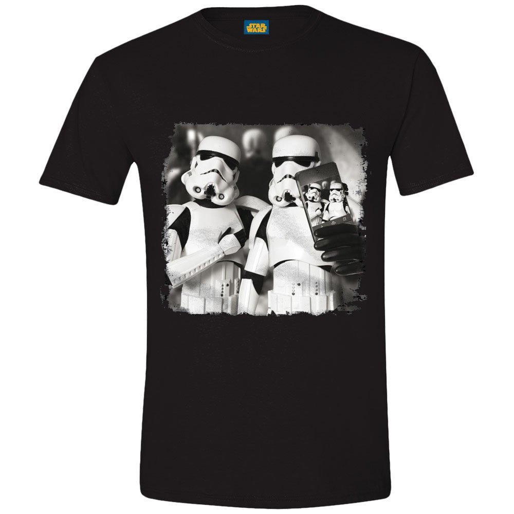 FDS Tshirt Star Wars - Troopers Selfie cotton division 341