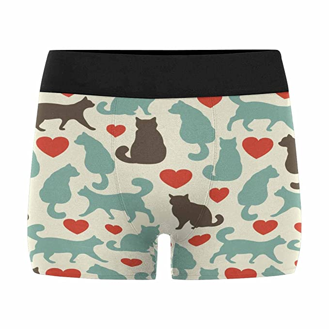 INTERESTPRINT Mens All-Over Print Boxer Briefs