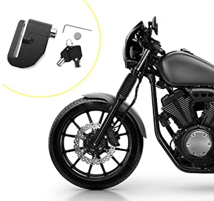 Amazon.com : scooter Universal Disc Brake Motorcycle Lock ...