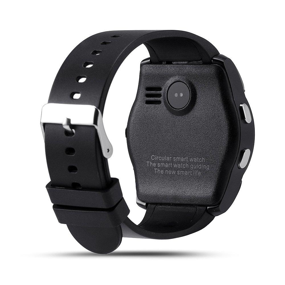 Hinmay V8 Bluetooth Smartwatch podómetro, Tarjeta SIM gsm ...