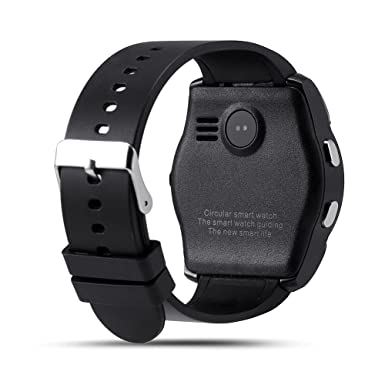 Amazon.com: V8 Smart Watch Fitness Tracker SD Card SIM Card ...