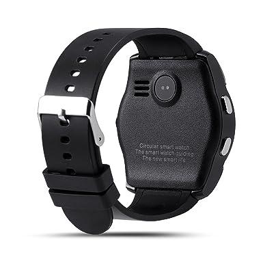 Amazon.com: V8 Smart Watch Fitness Tracker SD Card SIM Card ...