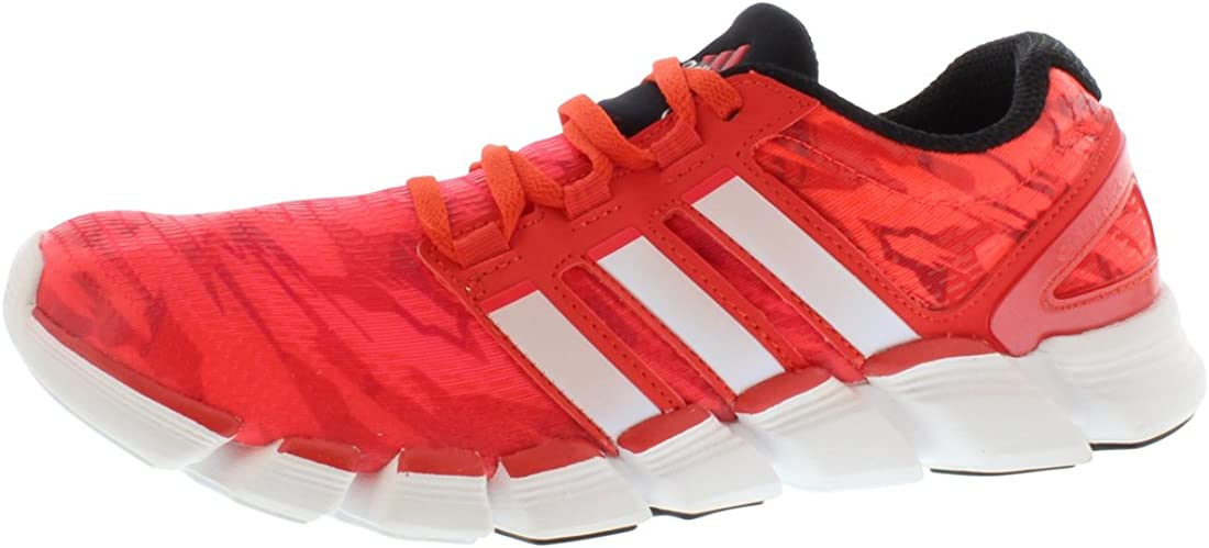 adidas Adipure Crazy Quick Red White Mens Running Shoes