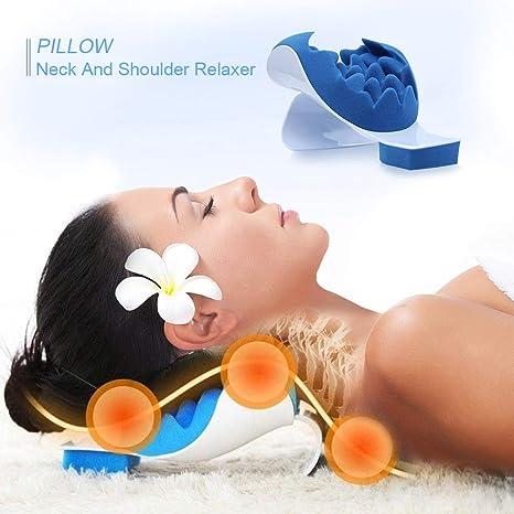 Amazon.com: Wefaner Almohada de relajación para cuello y ...