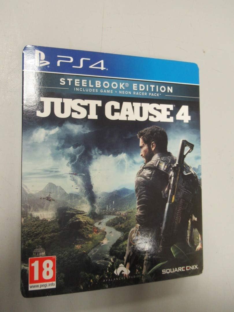 Just Cause 4 (Steelbook) - PlayStation 4 [Importación inglesa ...