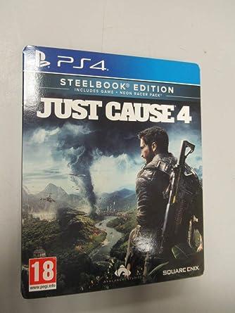 Just Cause 4 (Steelbook) - PlayStation 4 [Importación inglesa]: Amazon.es: Videojuegos